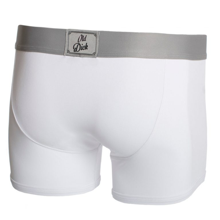 Old Dick Boxers - White