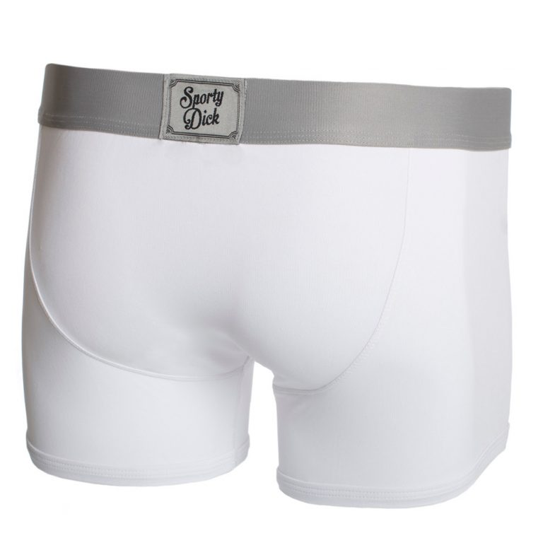 Sporty Dick Boxers - White